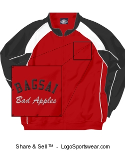 Adult Olympian Team Jacket by Charles River Design Zoom